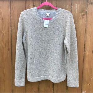 NWT J. Crew Gold Wool Sweater Size L